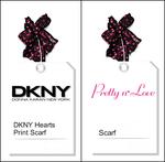 DKNY SCARFS SIM