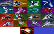 StarFox Command Ships