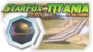 Star Fox Zero - Titania To Salvadora! Wii U Gameplay Walkthough With GamePad