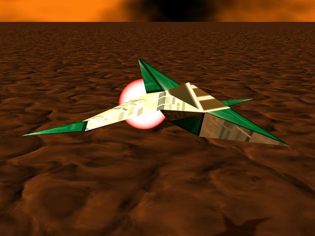 Archivo:Star Fox 64 Cornerian Figther Bulldog & Husky Scuadron.png