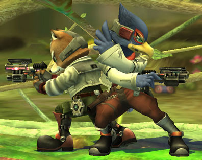 File:Fox and Falco SSBB.jpg