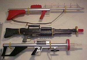 Lost in Space Laser Rifles
