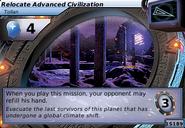 Relocate Advanced Civilization