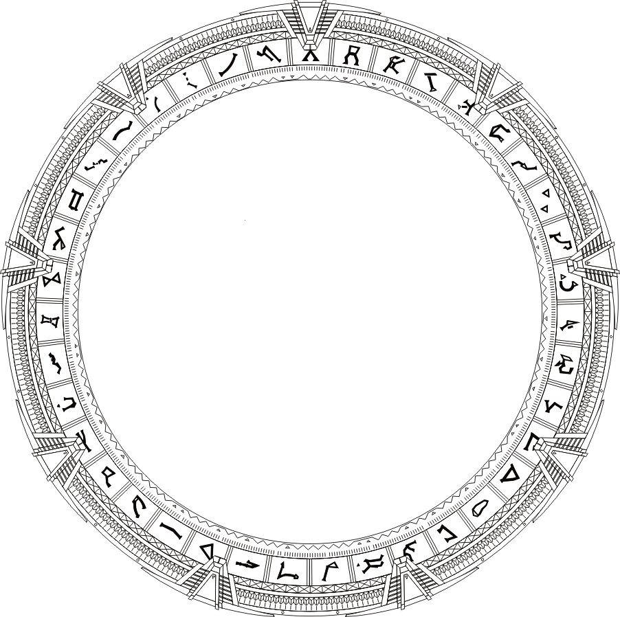 R Is For Ring Coloring Pages Glyph | SGCommand | FA...