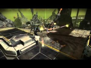 Starhawk - Multiplayer Capture the Flag on Acid Sea HD 720p