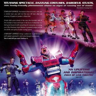 Promotional material, UK Tour 2004