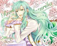 Yuzuriha Birthday Card by Hidou Ren