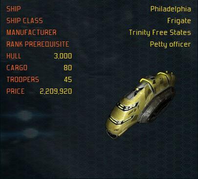 Philadelphia ship