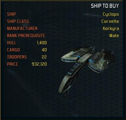Cyclops ship