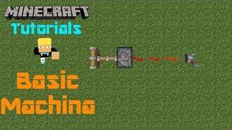 Minecraft Tutorials w Ben Basic Machina (SQ)