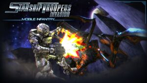 Starship troopers invasion mobile infantry splash by generalsoundwave-d5kzynz