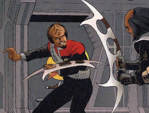 File:Worf batleth Malibu Comics.jpg