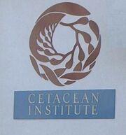 Cetacean Institute sign