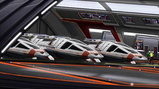 Image result for Star Trek shuttle bay