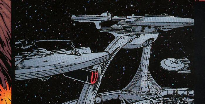File:Federation_delegation_ships on Star Trek Deep Space Nine Interior