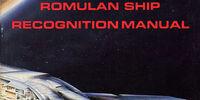 Romulan Ship Recognition Manual