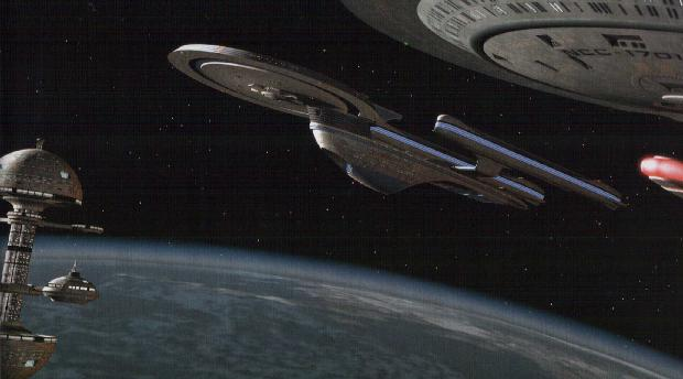 File:Excelsior-class starship at Starbase 29.jpg