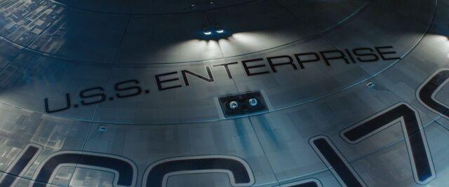 File:USS Enterprise forward phaser banks.jpg