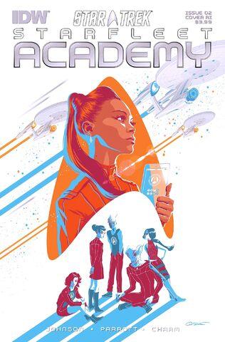 File:IDW Starfleet Academy, Issue 2.jpg