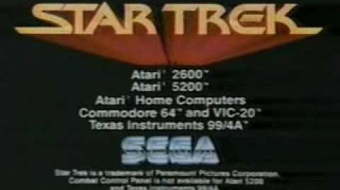 Star Trek - Strategic Operations Simulator - Atari 2600 Video Game Commercial - Atari 2600