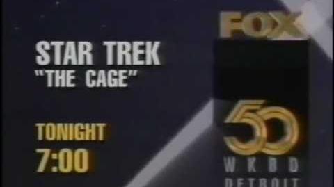 Star Trek - The Cage 1994 Promo