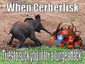 SpartanPro1 - Cerberlisk Elephant Meme
