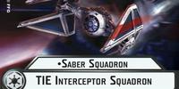 Saber Squadron TIE Interceptor Squadron