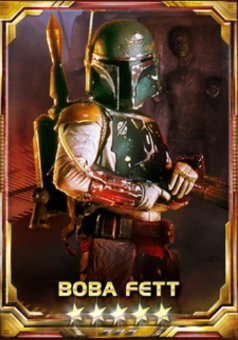 Boba Fett The Relentless Hunter 5S