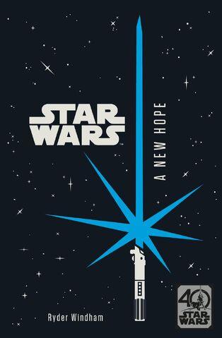 File:A New Hope 40th anniversary novel sticker.jpg