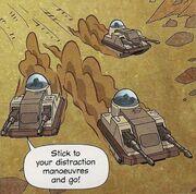 Three cute tanks