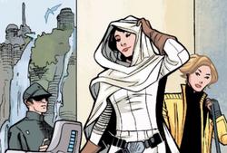 Leia and Evaan arrive on Naboo