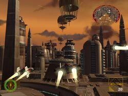 Raid on Bespin power gnerators
