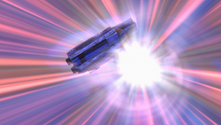 Phantom falls out of hyperspace