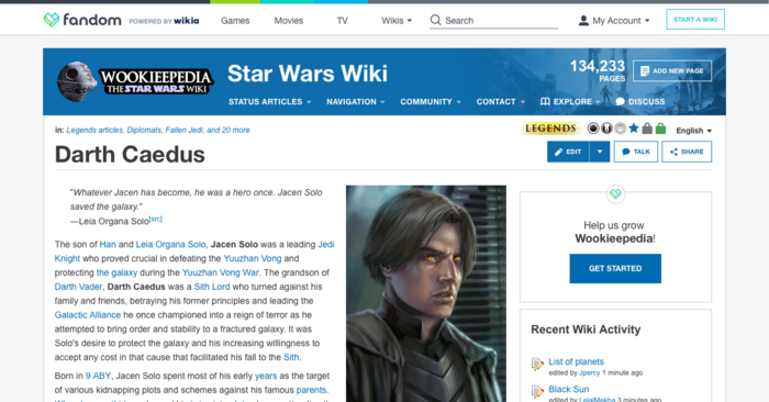 Wookieepedia Headers - Updated