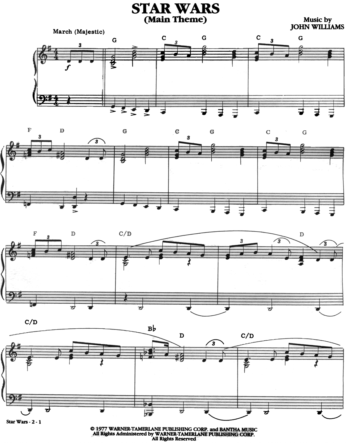 Time Signature Of Star Wars Theme 10