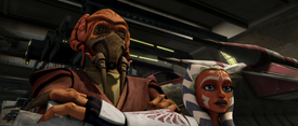 Plo Koon and Ahsoka Tano