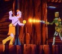 Mining Droid blasting Mon Julpa