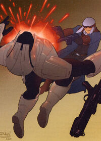 Nord kills Sith trooper