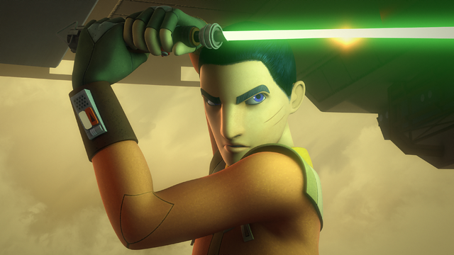 File:Ezra wields a lightsaber on Reklam Station.png