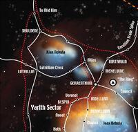 Lutrillian Cross and Kiax Nebula