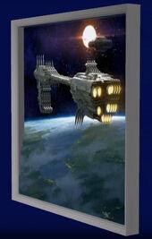 GalacticGatheringHousePainting3D