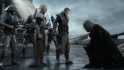 Vader captured