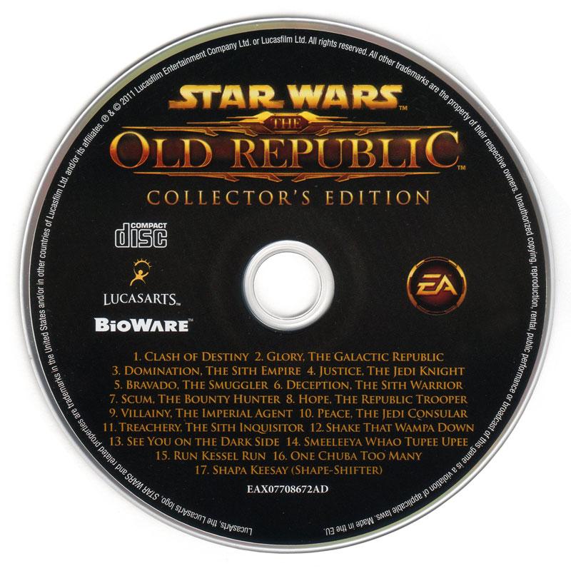 Image - SWTOR soundtrack CD.jpg | Wookieepedia | Fandom powered by ...
