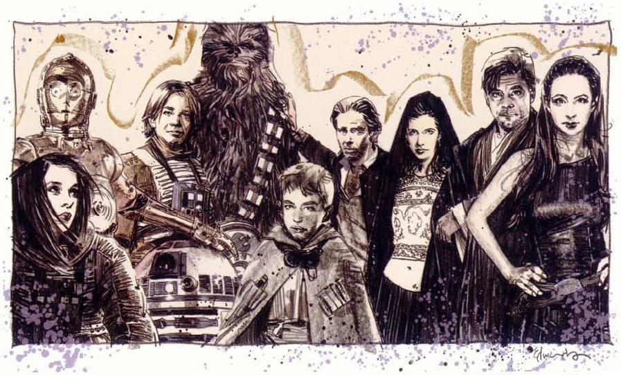 Skywalkersolofamily