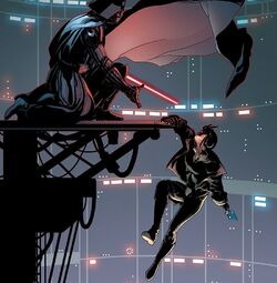 Vader hoists Aphra Quarantine World III