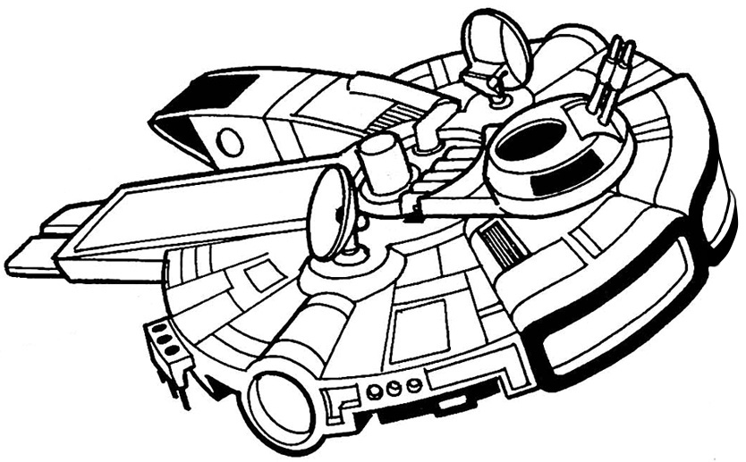 Dibujos Para Colorear De Star Wars Naves ~ Ideas Creativas Sobre ...
