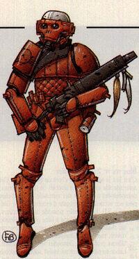 Selima kim soldier