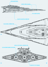 Resurgent-class Star Destroyer-Schematics-SW Card Trader