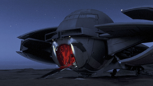 Sith Infiltrator hatch