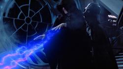 Vader Grabs Palpatine